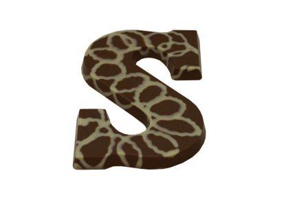 Caramel-chocolade-letter-feestelijkegeschenken