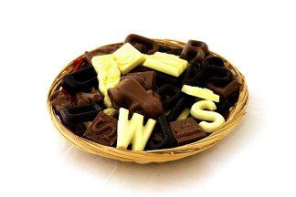 Sointerklaaschocolade in mandje